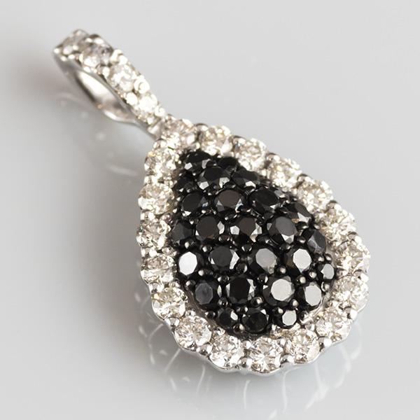 ブラックダイヤモンドペンダント