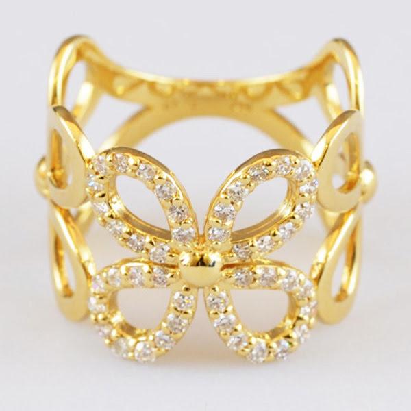 ダイヤモンド デザインリング