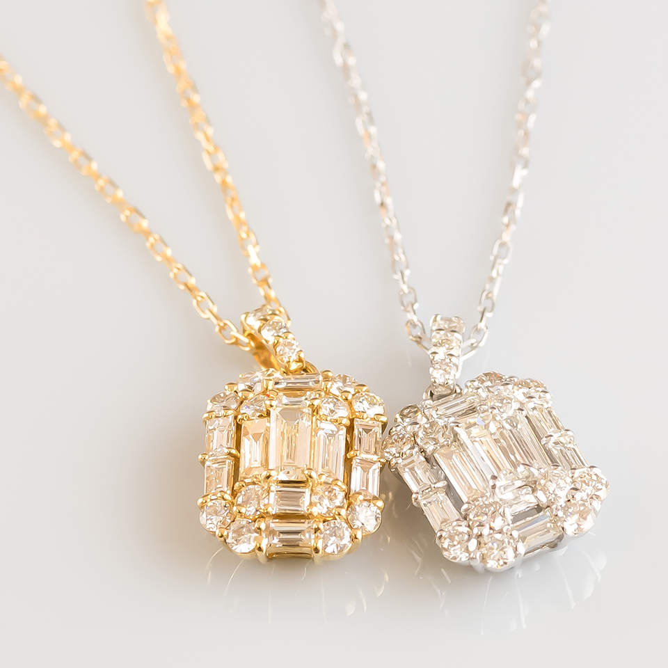 ダイヤモンドネックレス-ESPLANADE-