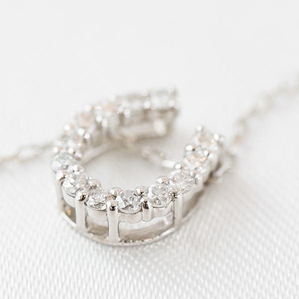 PTダイヤモンドネックレス 馬蹄